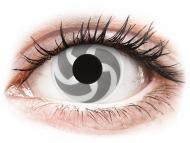 Bele kontaktne leče - brez dioptrije - ColourVUE Crazy Lens - Blade - brez dioptrije (2 leči)