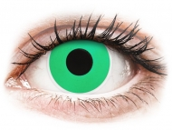 Barvne kontaktne leče brez dioptrije - ColourVUE Crazy Lens - Emerald (Green) - brez dioptrije (2 leči)