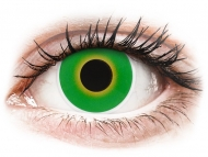 Crazy kontaktne leče - brez dioptrije - ColourVUE Crazy Lens - Hulk Green - brez dioptrije (2 leči)