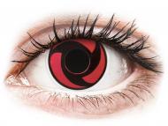 Crazy kontaktne leče - brez dioptrije - ColourVUE Crazy Lens - Mangekyu - brez dioptrije (2 leči)