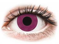 Barvne kontaktne leče brez dioptrije - ColourVUE Crazy Lens - Purple - brez dioptrije (2 leči)