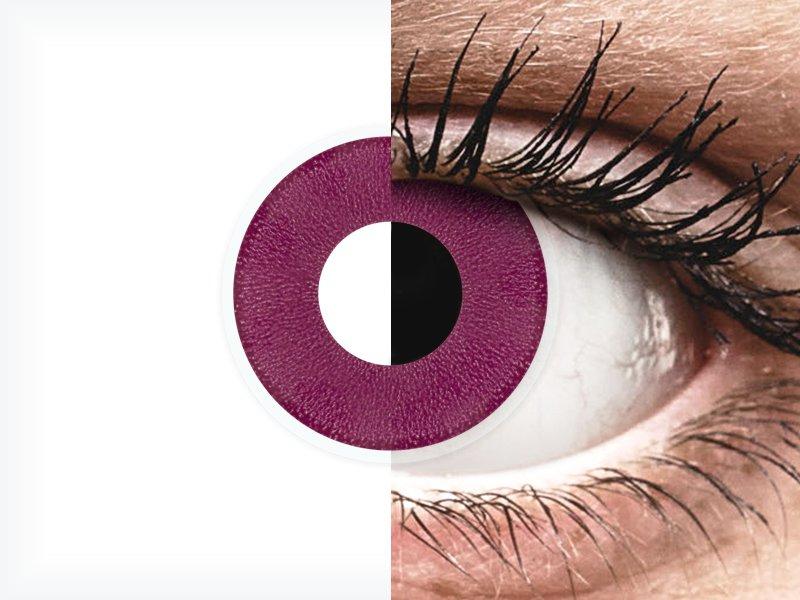 ColourVUE Crazy Lens - Purple - brez dioptrije (2 leči)