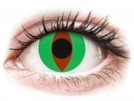 Crazy kontaktne leče - brez dioptrije - ColourVUE Crazy Lens - Raptor - brez dioptrije (2 leči)