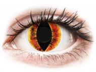 Posebne barvne leče - brez dioptrije - ColourVUE Crazy Lens - Saurons Eye - brez dioptrije (2 leči)