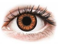Posebne barvne leče - brez dioptrije - ColourVUE Crazy Lens - Twilight - brez dioptrije (2 leči)