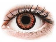 Rdeče kontaktne leče - brez dioptrije - ColourVUE Crazy Lens - Vampire - brez dioptrije (2 leči)