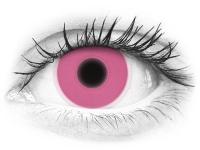 ColourVUE Crazy Glow Pink - brez dioptrije (2 leči)