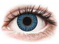 Modre kontaktne leče - brez dioptrije - TopVue Color daily - Sapphire Blue - brez dioptrije (10 leč)