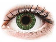 Kontaktne leče TopVue - TopVue Color - Green - z dioptrijo (2 leči)