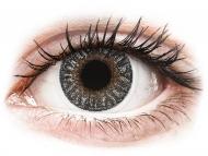 Sive kontaktne leče - brez dioptrije - TopVue Color - Grey - brez dioptrije (2 leči)