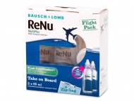 Tekočine za kontaktne leče - ReNu Multiplus flight pack 2 x 60 ml