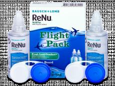 ReNu Multiplus flight pack 2 x 60 ml  - Tekočina za čiščenje