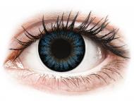 Barvne kontaktne leče brez dioptrije - ColourVUE BigEyes Cool Blue - brez dioptrije (2 leči)