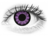 ColourVUE BigEyes Ultra Violet - brez dioptrije (2 leči)