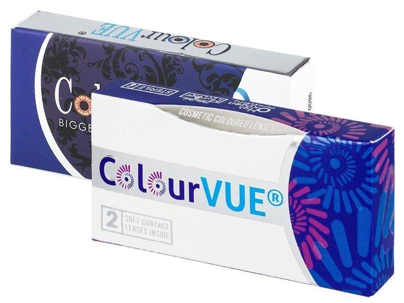 ColourVUE 3 Tones Blue - brez dioptrije (2 leči)