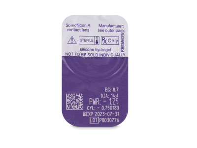 Predogled blister embalaže - Clariti Toric (6 leč)