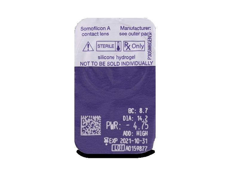 Clariti Multifocal (6 leč) - Predogled blister embalaže