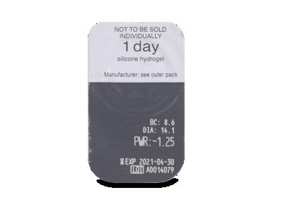 Clariti 1 day (30 leč) - Predogled blister embalaže