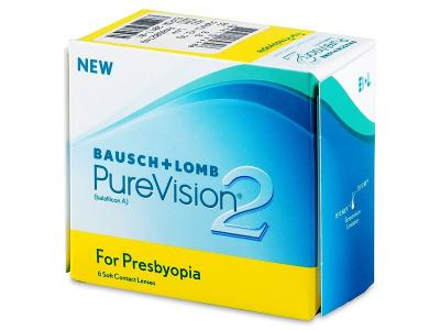 Multifokalne kontaktne leče - PureVision 2 for Presbyopia (6leč)