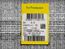 PureVision 2 for Presbyopia (6leč) - Predogled lastnosti