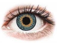 Kontaktne leče CooperVision - Expressions Colors Blue - z dioptrijo (1 leča)