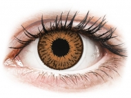 Barvne kontaktne leče z dioptrijo - Expressions Colors Hazel - z dioptrijo (1 leča)