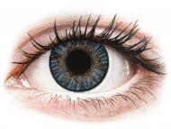 Barvne kontaktne leče z dioptrijo - FreshLook ColorBlends Blue - z dioptrijo (2 leči)