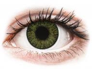 Zelene kontaktne leče - brez dioptrije - FreshLook ColorBlends Green - brez dioptrije (2 leči)