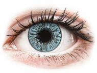 Modre kontaktne leče - brez dioptrije - FreshLook Colors Blue - brez dioptrije (2 leči)