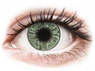 Barvne kontaktne leče z dioptrijo - FreshLook Colors Green - z dioptrijo (2 leči)