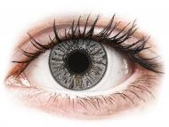 Barvne kontaktne leče z dioptrijo - FreshLook Colors Misty Gray - z dioptrijo (2 leči)