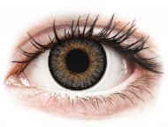 Sive kontaktne leče - z dioptrijo - FreshLook One Day Color Grey - z dioptrijo (10 leč)