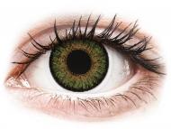 Zelene kontaktne leče - z dioptrijo - FreshLook One Day Color Green - z dioptrijo (10 leč)