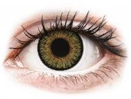 Rjave kontaktne leče - z dioptrijo - FreshLook One Day Color Pure Hazel - z dioptrijo (10 leč)
