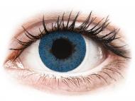 Modre kontaktne leče - z dioptrijo - FreshLook Dimensions Pacific Blue - z dioptrijo (6 leč)