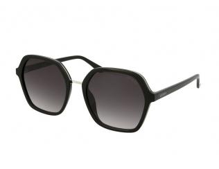 Oversize sončna očala - Guess GU7557-S 01B
