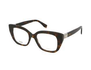 Cat Eye okvirji za očala - Fendi FF 0274 086