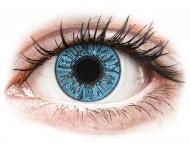 Modre kontaktne leče - brez dioptrije - FreshLook Colors Sapphire Blue - brez dioptrije (2 leči)