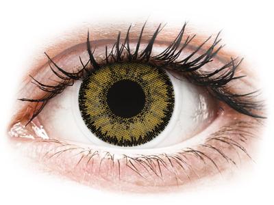 SofLens Natural Colors Dark Hazel - z dioptrijo (2 leči)