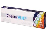 ColourVue One Day TruBlends Rainbow 2 - brez dioptrije (10 leč)