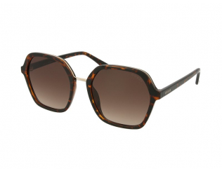 Oversize sončna očala - Guess GU7557 52F
