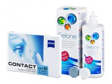 Contact Day 30 Air (6 leč) + tekočina Gelone 360 ml