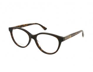 Oval / Elipse okvirji za očala - Gucci GG0379O-002