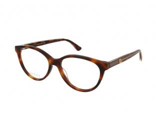 Oval / Elipse okvirji za očala - Gucci GG0379O-003