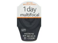 Proclear 1 Day multifocal (30leč) - Predogled blister embalaže