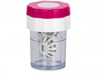 Škatlice za kontaktne leče - Vrtljiva škatlica - roza