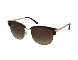 Browline sončna očala - Guess GU7482 52F