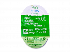Biotrue ONEday (30leč) - Predogled blister embalaže