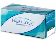 Barvne kontaktne leče - FreshLook Dimensions - z dioptrijo (6leč)