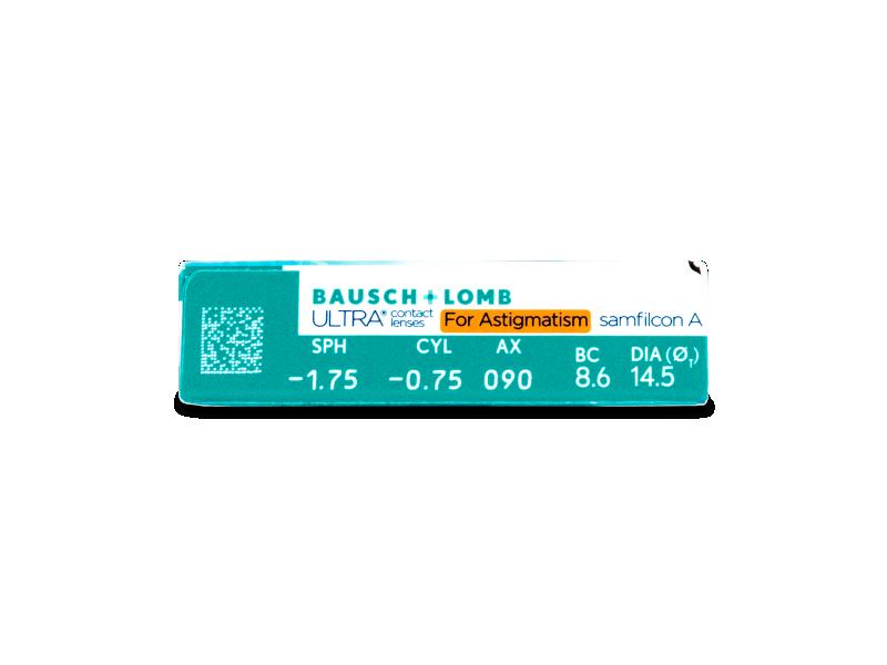 Predogled lastnosti - Bausch + Lomb ULTRA for Astigmatism (6 leč)